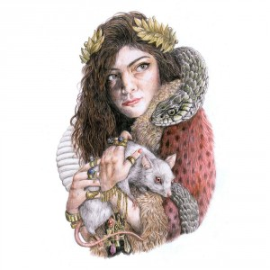 8) Lorde / The Love Club