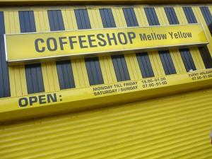 Coffeeshop Yellow Mellow ouvert en 1973